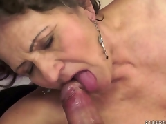 Kata is the most insatiable granny u can imagine. You can check out this hairy granny in act here as she swallows and gets screwed by that youthful dick that makes her cum.