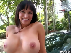 Are u willing to see some other cock loving mom go crazy Angie Noir admits being a bit shy as this is her first time in front of the camera, but shes a natural talent!
