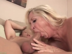 Shaved mature bawdy cleft fucked hard by his hairless cock