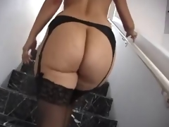 Large A-hole MILF In Lingerie Hard Fucking !