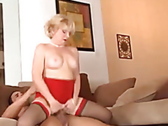 Grannies, anal, cream pie