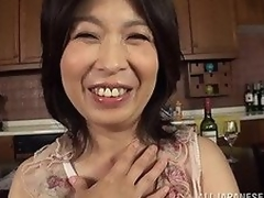 A Wild fuckfest is exactly what our hot older Japanese AV model needs in order to satisfy her endless lust. This babe does her horny most good to have a fun cum-hole stimulation to the max and to make that group action totally unforgettable and full with high-class lechery!