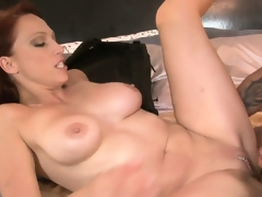 After having her enchanting MILF cunt sucked, Nicki Hunter gets slammed hard and deep
