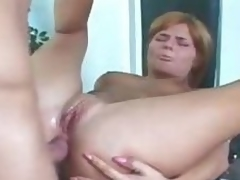 In flames head succeed in her ass drilled and succeed in caught on spycam in to