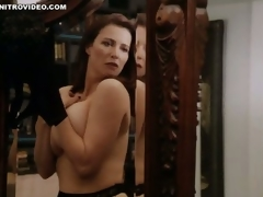 World's Hottest MILF Mimi Rogers Shows Her Biggest Natural Knockers