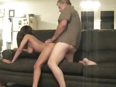 69 leads to jock riding on sofa