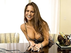 Breasty Latin babe MILF With a Hot Wazoo Sucks and Copulates a Big Cock